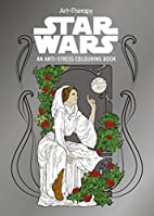 Star Wars Art Therapy Colouring Book by…