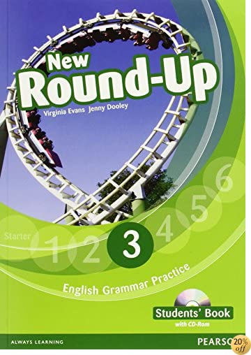 Round Up Level 3 Students Book Cd Rom Pack by Jenny Dooley,V Evans ...