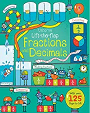 Lift-the-Flap Fractions and Decimals –…