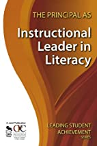 The principal as instructional leader in…