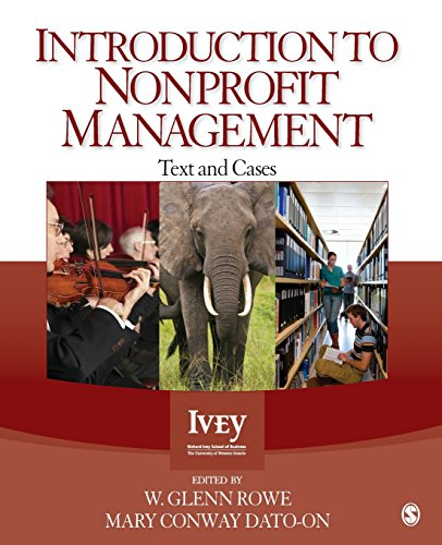 Introduction to Nonprofit Management: Text and Cases (Ivey Casebook Series)