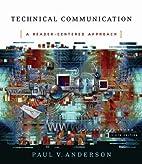 Technical Communication: A Reader-Centered…