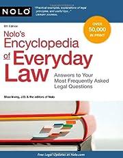 Nolo's Encyclopedia of Everyday Law:…