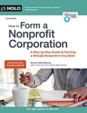 How to Form a Nonprofit Corporation…