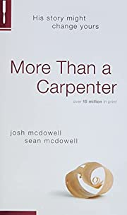 More Than a Carpenter – tekijä: Josh D.…