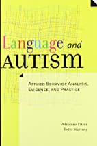 Language and autism : applied behavior…