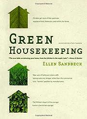 Green Housekeeping de Ellen Sandbeck