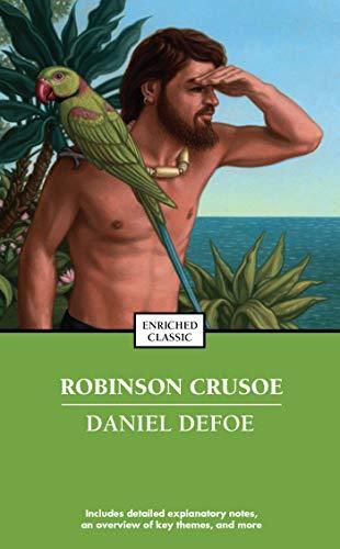 Robinson Crusoe written by Daniel Defoe