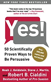 Yes!: 50 Scientifically Proven Ways to Be…