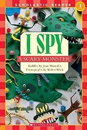 I Spy A Scary Monster (Turtleback School &…