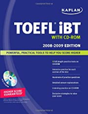 Kaplan TOEFL iBT with CD-ROM 2008-2009 by…