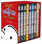 Wimpy Kid Box of Books 1-7 DIY Journal…