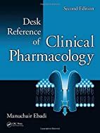 Desk Reference of Clinical Pharmacology (2nd…