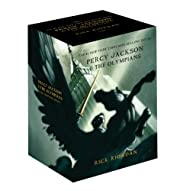 Percy Jackson pbk 5-book boxed set (Percy…