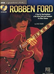 Robben Ford (Signature Licks) av Dave Rubin