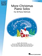 More Christmas Piano Solos - Level 1: Hal…
