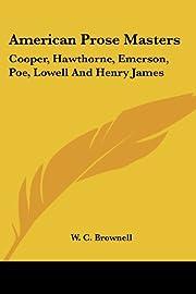 American Prose Masters: Cooper, Hawthorne,…