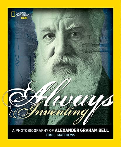 Biography Book Covers: Alexander Bell Biography
