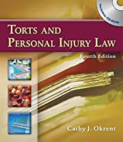 Torts and Personal Injury Law av Cathy…
