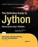 couverture du livre The Definitive Guide to Jython