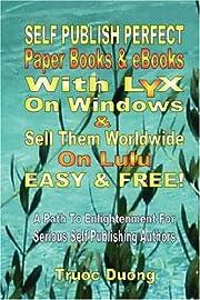 Self Publish Perfect Paperbooks & eBooks…