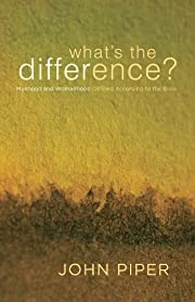What's the Difference?: Manhood and…