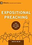 Expositional Preaching: How We Speak God's Word Today book cover