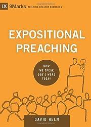 Expositional Preaching: How We Speak God's…