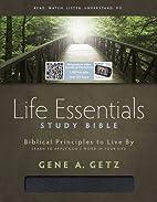 Life Essentials Study Bible, Black Bonded…