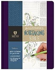 HCSB Illustrator's Notetaking Bible, Purple…