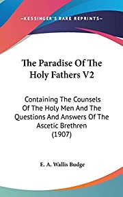 The Paradise Of The Holy Fathers V2:…
