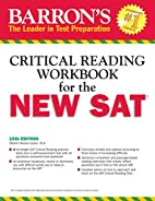 Barron's Reading Workbook for the NEW SAT…