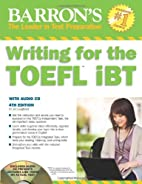 Writing for the TOEFL iBT with Audio CD, 4th…