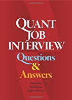 Quant Job Interview Questions And Answers by…