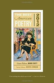 The best American poetry, 2012