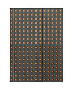 B6 Journal Quadro grey on orange