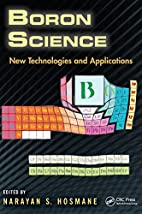 Boron Science: New Technologies and…