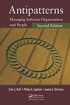 Antipatterns: Managing Software…