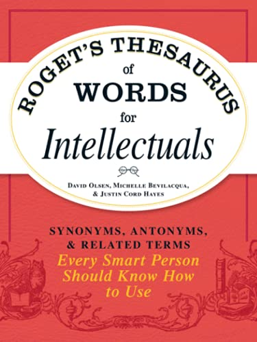 PDF] Roget's Thesaurus of Words for Intellectuals: Synonyms