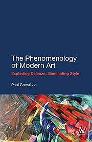 Phenomenology of modern art : exploding…
