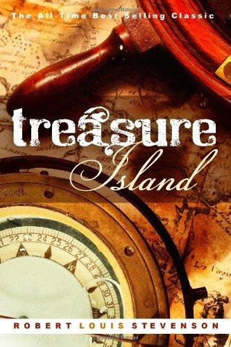 Treasure Island written by Robert Louis Stevenson