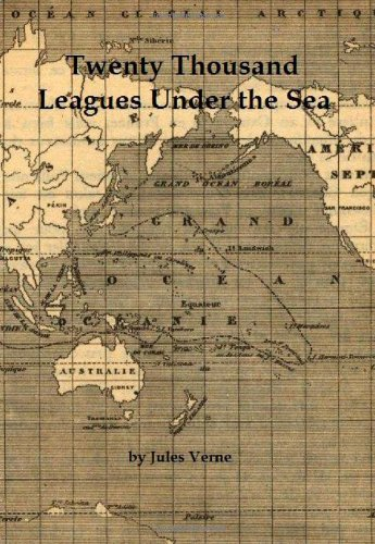 Twenty Thousand Leagues Under the Sea written by Jules Verne