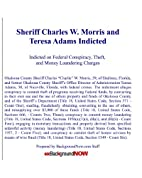 Sheriff Charles W. Morris and Teresa Adams…