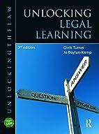 Unlocking Legal Learning (Unlocking the Law)…