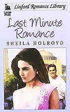 Last Minute Romance (Linford Romance…