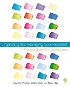 Organizing and Managing Your Research: A…