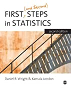 First (and Second) Steps in Statistics by…