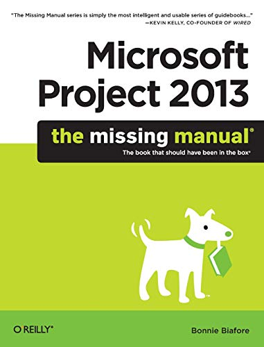 PDF] Microsoft Project 2013: The Missing Manual   Free
