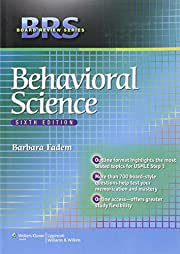 Behavioral Science (Board Review) de Barbara…
