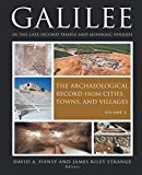 Galilee in the Late Second Temple and Mishnaic Periods. Vol. 2: The Archeological Record from Cities, Towns, and Villages book cover